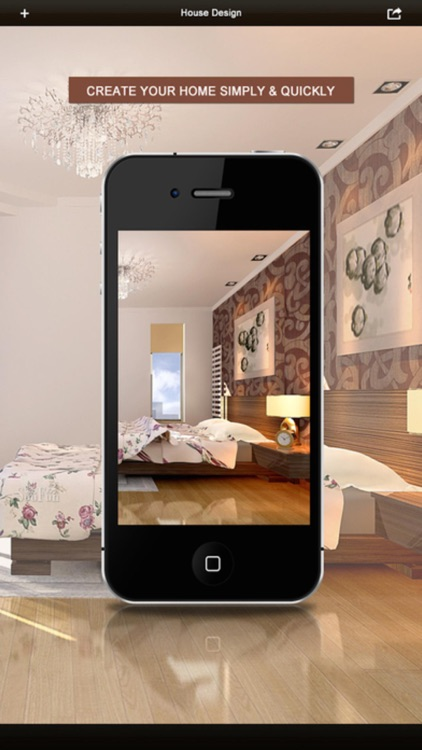 3D Interior Plan - Home Design idea & Blueprint