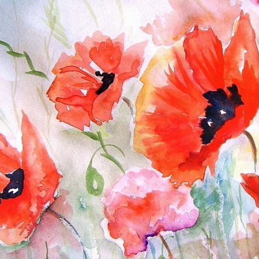 Watercolour Flowers Wallpapers HD- Quotes and Art