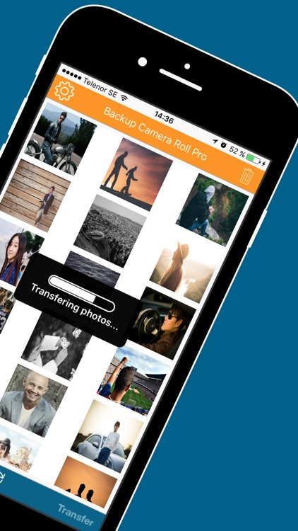 Back up Assistant for Camera Roll Movies & Photos