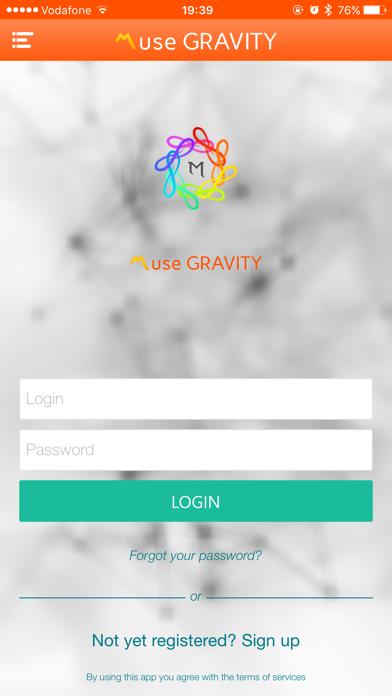 Muse GRAVITY screenshot two