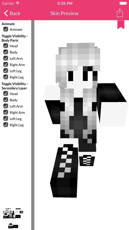 Girl Skin For Minecraft Edition screenshot-3