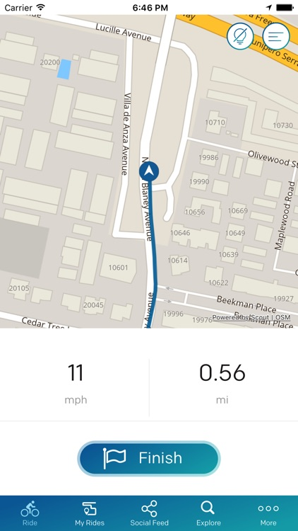 blackriver cycling - GPS Ride Tracker