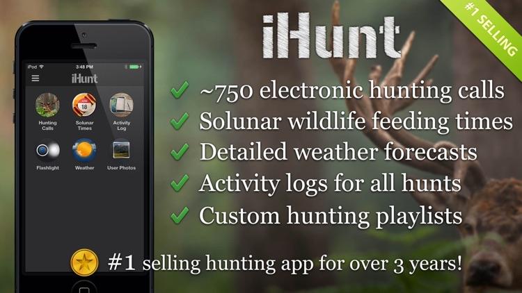 iHunt By Ruger Hunting Calls Fish & Solunar Tables app image