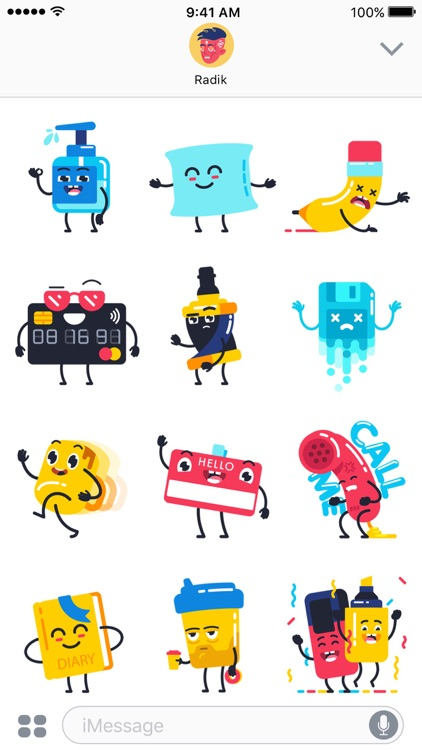 Office Party – Animated Stickers