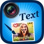 Escribir foto - texto, pintar, dibujar en imagen icon
