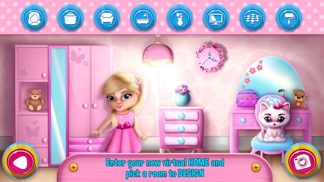 my doll house games for girls dream dollhouse on the app store