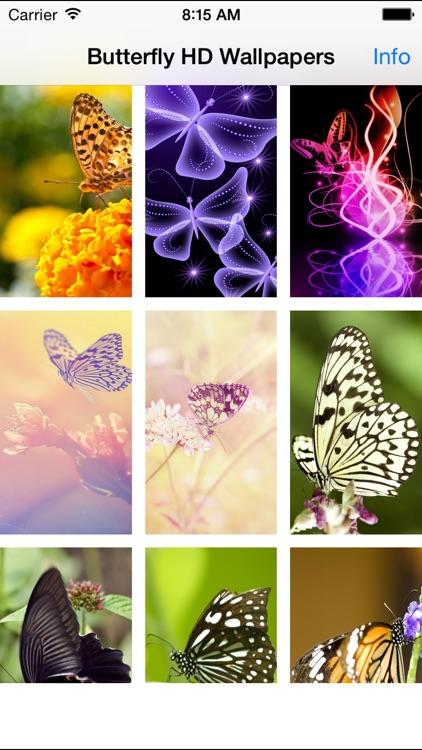 Butterfly Wallpapers(HD)-Best Backgrounds & Themes screenshot-3