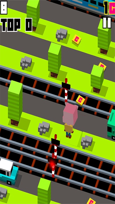 City Crossy Adventure For Pig Day screenshot one