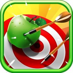 Amazing Fruit Archery - A Difficult Shoot And Target Apple Banana Grape Lemon Cherry Coconut Pineapple Orange Mango And Watermelon Game