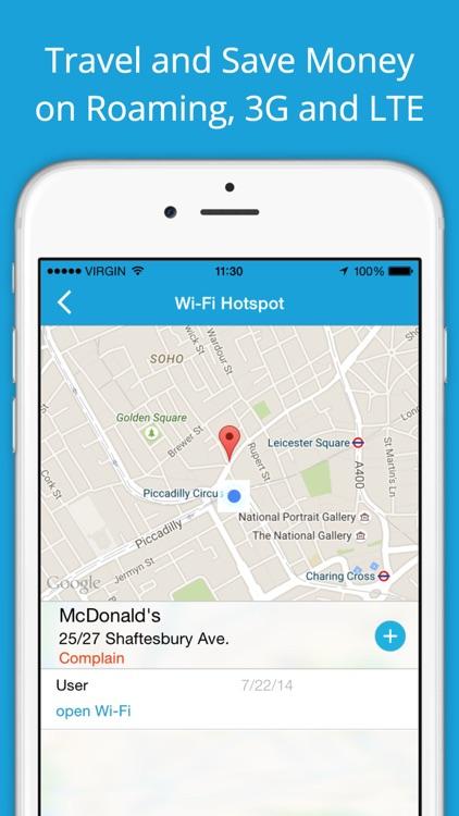 Wi-Fi Finder - free internet