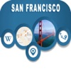 San Francisco CA Offline City Maps with Navigation