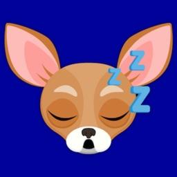 Tan Chihuahua Emoji Stickers
