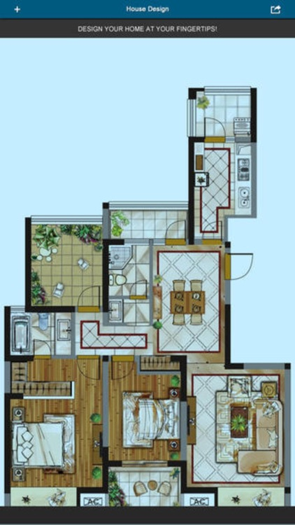 Home Office Design - floor plan & draft design screenshot-3