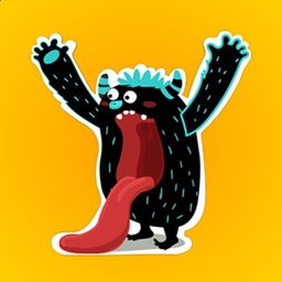 Geometry Monster for Dash - Stickers For iMessage