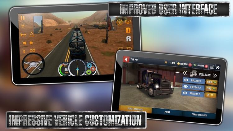 Truck Simulator USA screenshot-3