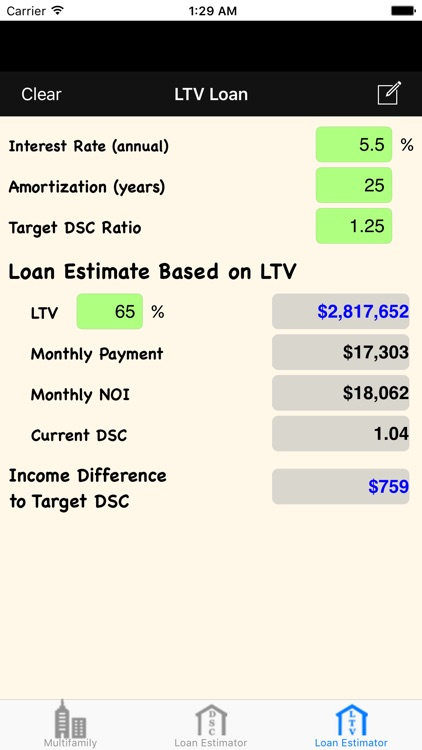 MRE: Multifamily Real Estate Calculator screenshot-4