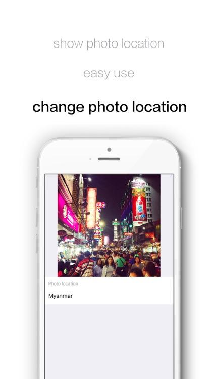 FakeLocation-Change photo location