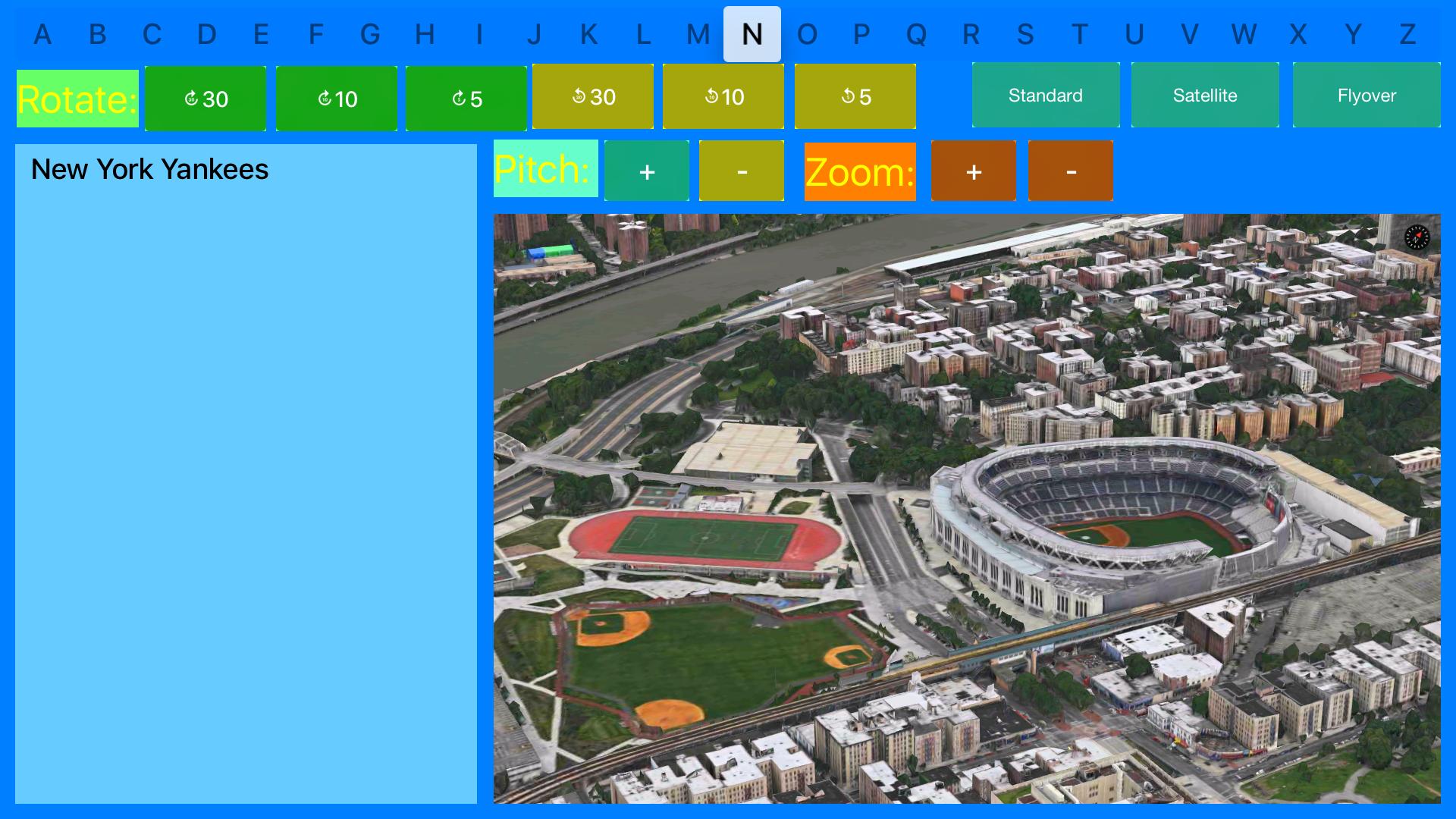Sport Stadiums Pro - 3D Cities screenshot 22