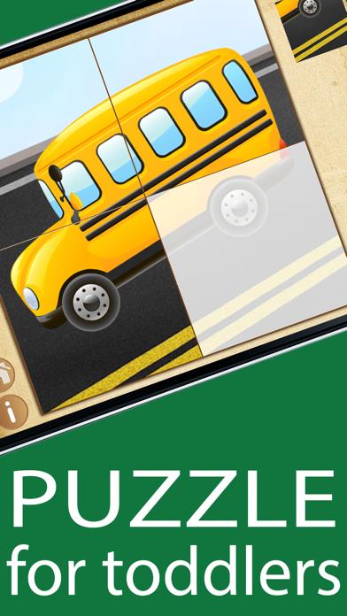 学習キッズゲームカーパズルの幼児のための2年間のおすすめ画像1