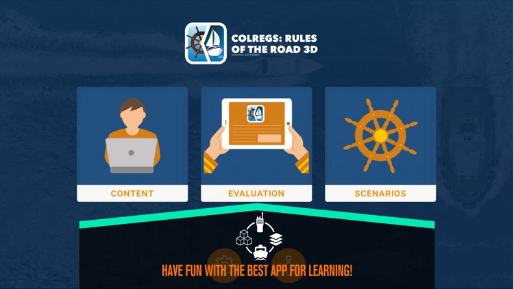 COLREGS: Rules of the road 3D