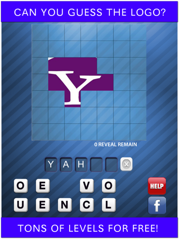 Screenshot of Guess the Logo Pic Brand - Word Quiz Game!