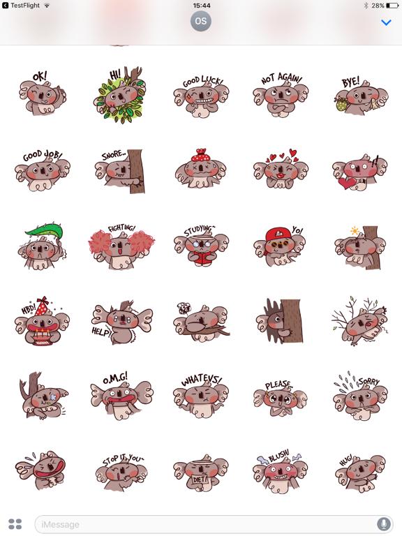 Koala Face Emotions-ipad-1