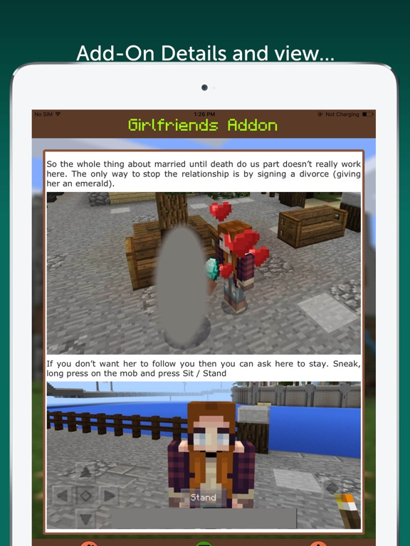 Girlfriends AddOn for Minecraft PE | App Price Drops