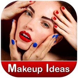 Makeup Ideas - Eyes Lipstick, Eyebrows Contouring