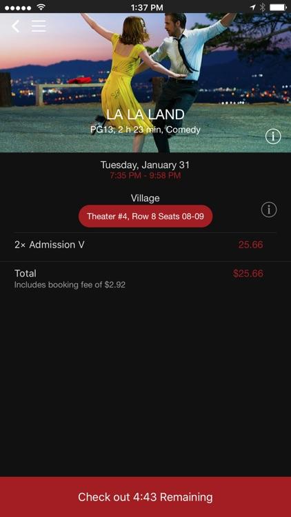 Alamo Drafthouse Ticketing App screenshot-3