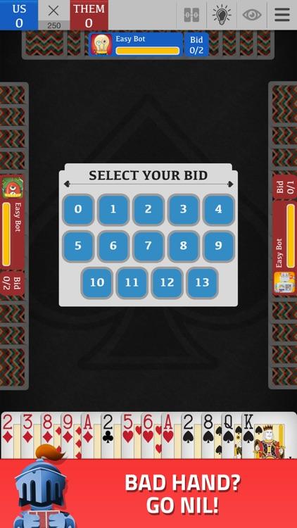Spades - Classic Card Game screenshot-3
