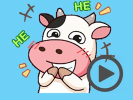 Milk Cow Animated