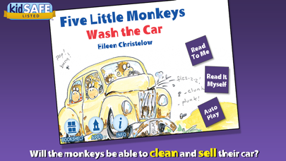 Five Little Monkeys Wash The Car review screenshots