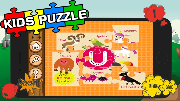 Alphabet Jigsaw Games Kids & Toddlers Free Puzzle