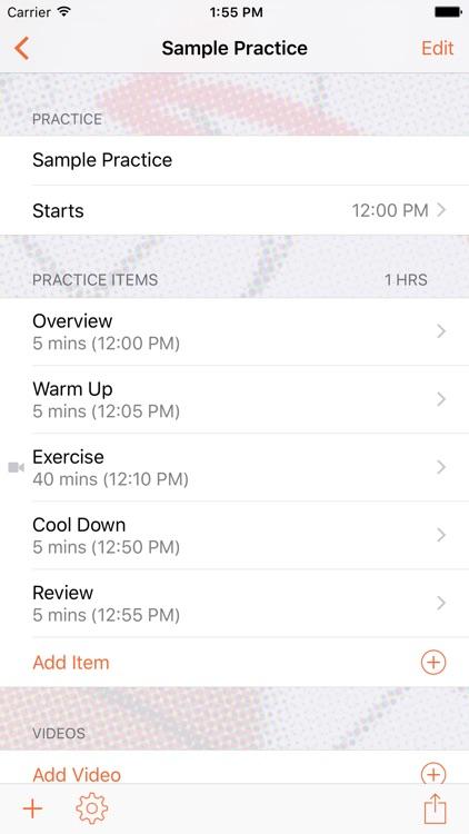 InfiniteHoops Practice Planner