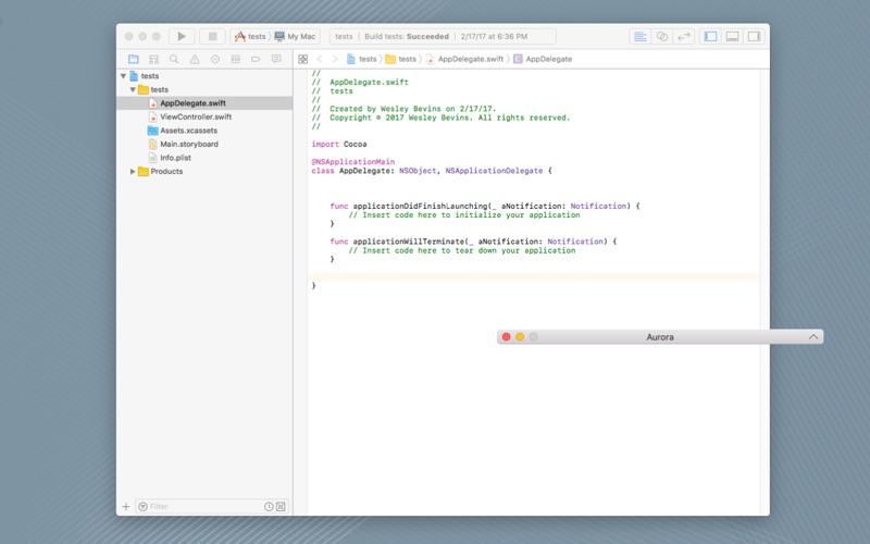 Aurora Browser скриншот программы 4