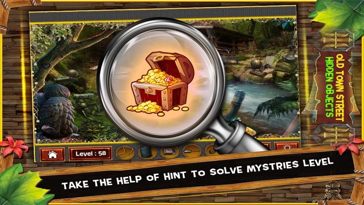 Old Town Street Hidden Objects Game: 150 Levels screenshot-3
