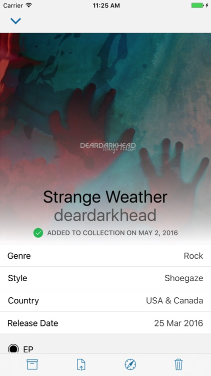 Wax for iPhone - Own Your Record Collection
