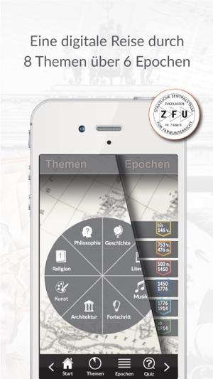 getucated Allgemeinwissen Geschichte, Quiz & Test Screenshot