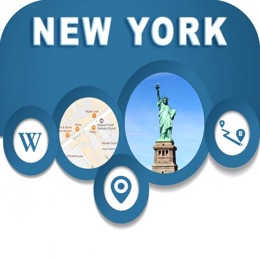 New York NY USA Offline City Maps with Navigation