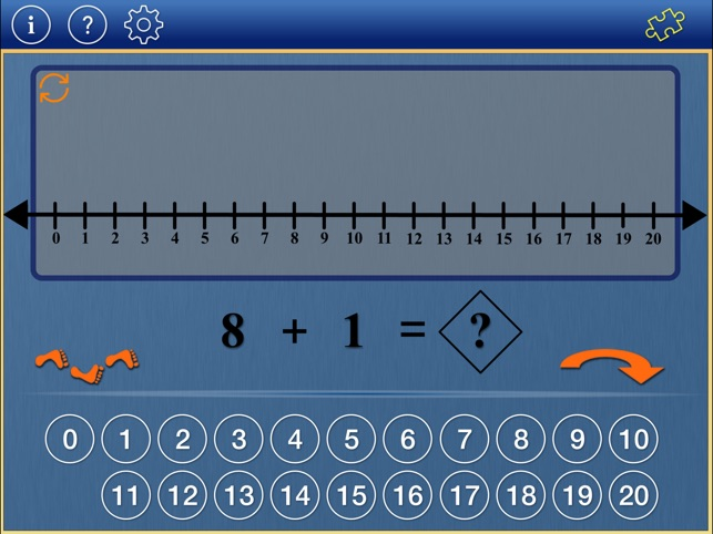Number Line Math K2 on the App Store