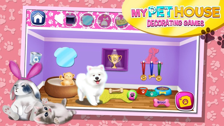 My Pet House Decorating Game.s: Animal Home Design screenshot-3