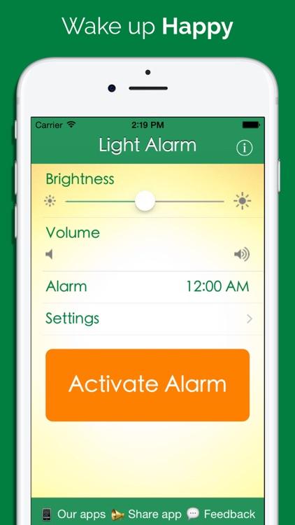 Light Alarm Free