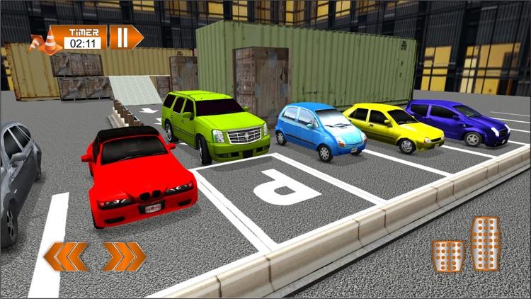 4x4 Jeep Parking & Car Driving Simulator screenshot-4
