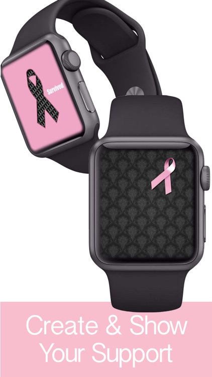 Pink Ribbon Watch Faces - Backgrounds & Wallpaper