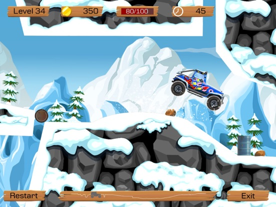 Игра Snow Off Road -- Mountain Mud/Dirt Driving Game