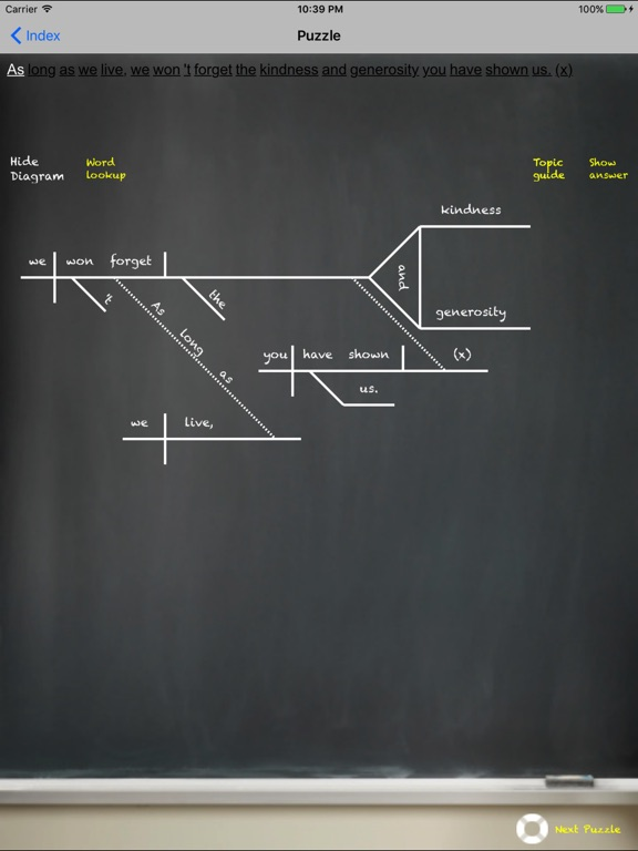 Sengram sentence diagramming app price drops screenshot 1 for sengram sentence diagramming ccuart Image collections