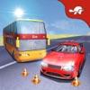 自動車・バスの運転手の教育:学校シミュレータを運転します