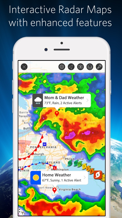 Weather Mate - NOAA Radar Maps