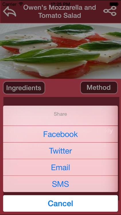 Italian Salad Recipes screenshot-3
