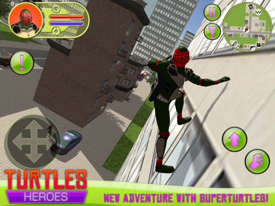 Turtles Heroes на iPad
